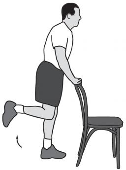 تقویت زانو با خم کردن عضلات همسترینگ