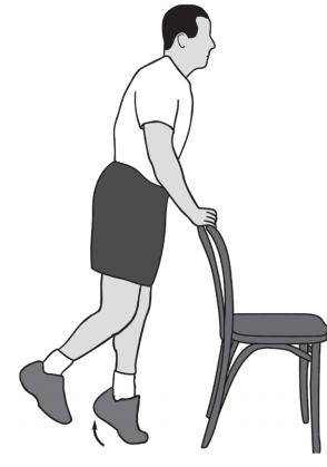 تقویت زانو با بالا بردن عضله ساق پا