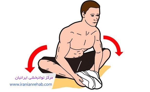 تمرین پاها برای درمان پای پرانتزی